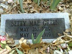 Betty Mae Green