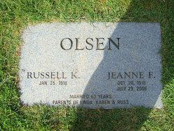 Jeanne F Olsen