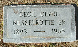 Cecil Clyde Nesselrotte, Sr