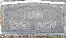 Etta Ola Ettie <i>Dixon</i> Lee