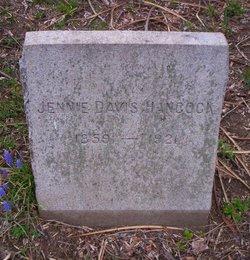 Jennie <i>Davis</i> Hancock