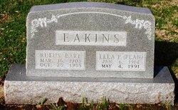 Lela P <i>Pean</i> Eakins