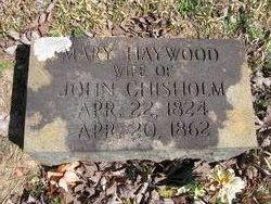 Mary <i>Haywood</i> Chisholm