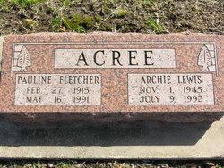 Archie Lewis Acree