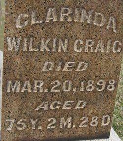 Clarinda <i>Wilkin</i> Craig