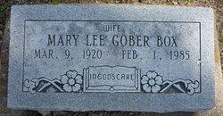 Mary Lee <i>Gober</i> Box
