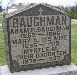 Mary Ann <i>Dague</i> Baughman