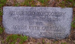 Louise Ruth <i>Carrell</i> Montgomery