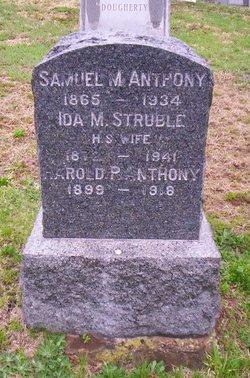 Ida M. <i>Struble</i> Anthony
