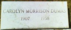 Carolyn <i>Morrison</i> Dumas