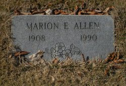 Marion E Allen