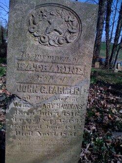 Katherine Spencer <i>Hawkins</i> Farmer