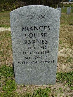 Frances Louise <i>Mankey</i> Barnes