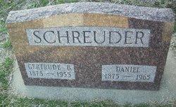 Gertrude B Gertie <i>Wichers</i> Schreuder