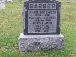 Margaret Jane <i>Palmer</i> Barber