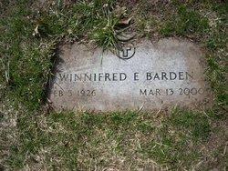 Winnifred Ella <i>Short</i> Barden