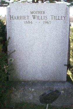 Harriet <i>Willis</i> Tilley