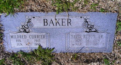 Mildred Louise <i>Currier</i> Baker