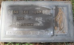 Ruby Lee Albright