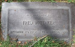Fred Whitaker