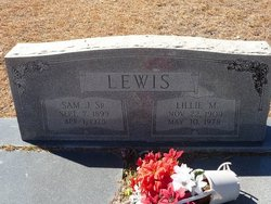 Sam J Lewis, Sr