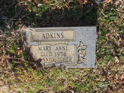 Mary Anne <i>Neely</i> Adkins