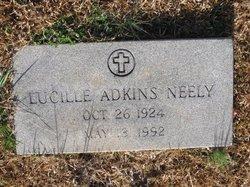 Lucille <i>Adkins</i> Neely
