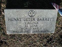 Henry Jeter Barrett