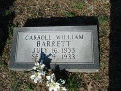 Carroll William Barrett