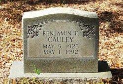 Benjamin F Cauley