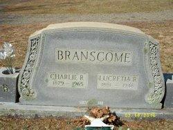 Lucretia Rudolph <i>Spence</i> Branscome