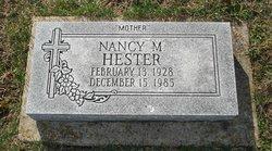 Nancy M Hester