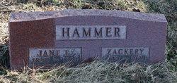 Zachariah M Zackery Hammer
