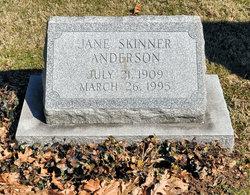 Jane <i>Skinner</i> Anderson