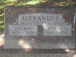 Minnie Susan <i>Clubb</i> Alexander