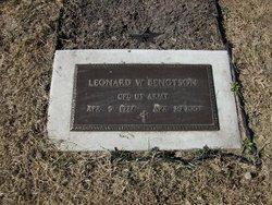 Leonard W Bengtson