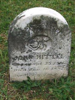 John Hittel
