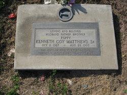 Kenneth Coy Papa Matthews, Sr