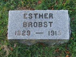 Esther <i>Kulp</i> Brobst