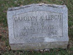 Carolyn A <i>Lerch</i> Davis