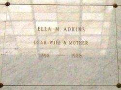 Ella M <i>Johnson</i> Adkins