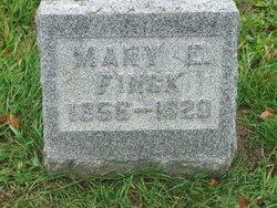 Mary E. <i>Johnson</i> Finck