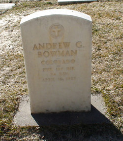 Andrew G. Bowman