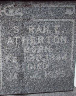 Sarah E. <i>Boley</i> Atherton
