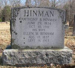 Ellen Mary <i>Benham</i> Hinman