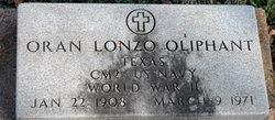 Oran Lonzo Oliphant