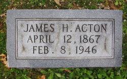 James H Acton