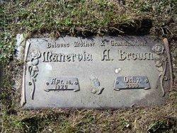 Manervia A. Brown