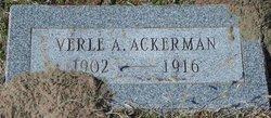Verle A. Ackerman