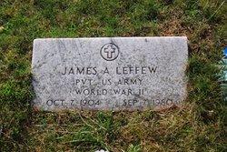 James Albert Leffew